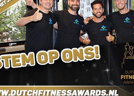 Stem op ons voor fitnessclub van het jaar!