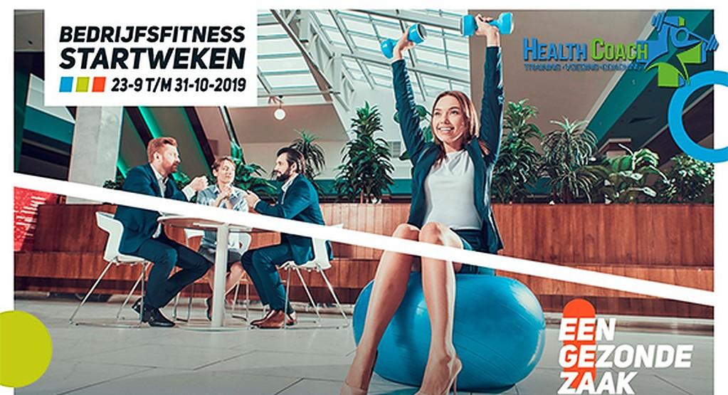 Bedrijfsfitness startweken: 23 september t/m 31 oktober 2019